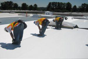 flat roof repair replacement installation lexington kentucky roofer roofing contractor